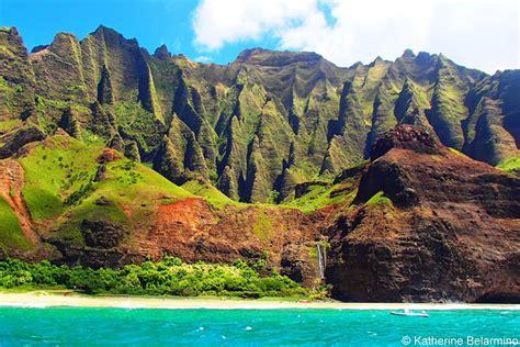 catamaran tours kauai touring kauai s na pali coast with napali catamaran