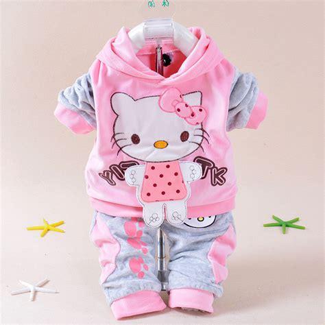 imagenes hello kitty fashion aliexpress com buy baby girls clothing set cartoon hello