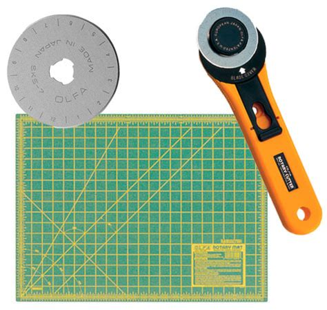 Rotary Cutter Mats by Olfa 45mm Rotary Cutter Rty 2 G 18x24 Quot Cutting Mat