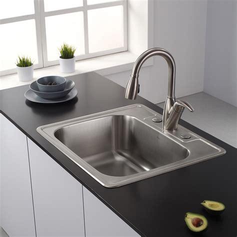 Kitchen : Black Undermount Kitchen Sink Contemporary