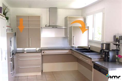 hauteur meubles cuisine meuble cuisine en hauteur cuisine en image