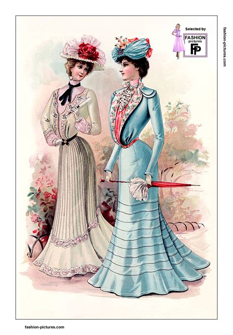 1900s fashion s skirts blouses and hats in 1901