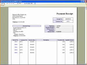 Business Letter Sample Thank You Customers 6 Receipt Of Payment Expense Report