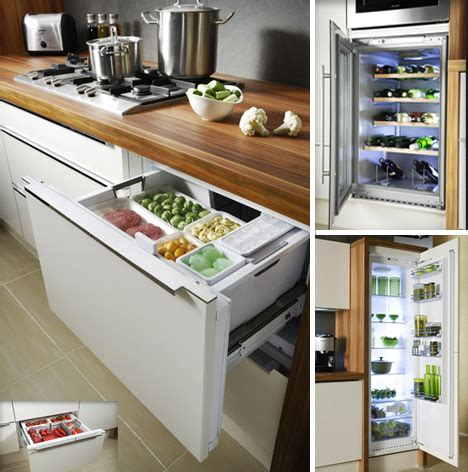 Do It Yourself Kitchen Design Layout by Personal Fridge Set Free Up Space Amp Add Storage Capacity