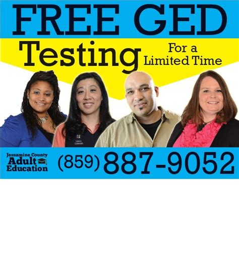 free ged for adults free ged jessamine county education