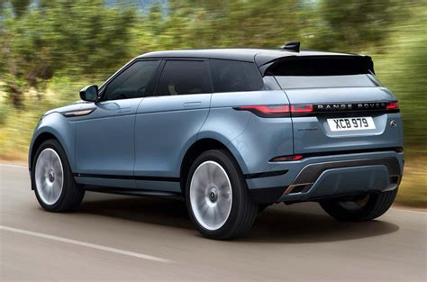 2019 Range Rover Evoque by 2019 Range Rover Evoque Revealed With New Tech And Mild
