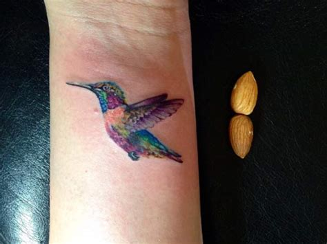 31 hummingbird wrist tattoos design