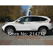 Auto Decal Sports Racing Stripe Two Sides For Honda CRV SUVjpg