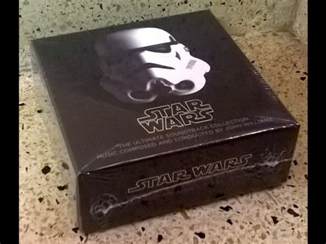 Cd Lacrimas Profundere Songs For The Last View Cddvd wars the ultimate soundtrack collection cd set unboxing