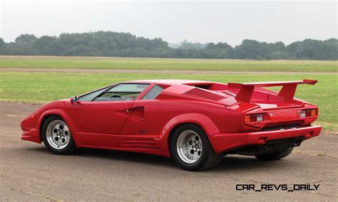 Lamborghini Countach 1990 by 1990 Lamborghini Countach 25th Anniversary Edition Brings