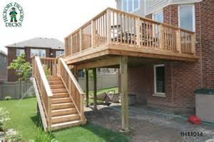 raised deck plans woodwork elevated deck plans pdf plans