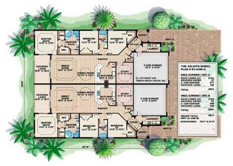 mediterranean house floor plans mediterranean house plans home design calista 17748