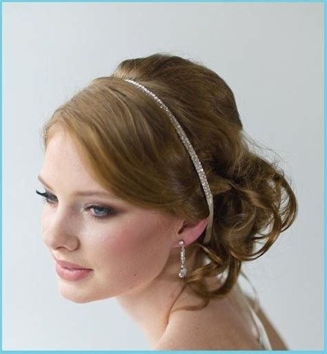 bridal ribbon hairstyles bridal satin ribbon crystal headband tiara perfect hair accessory 2043954 weddbook