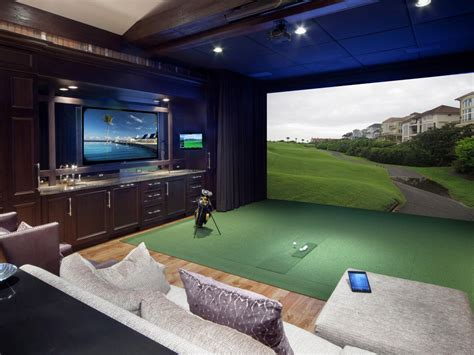 golf bedroom ideas media room decor pictures options tips ideas hgtv