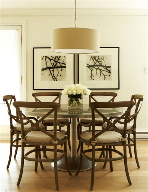 metal dining table contemporary dining room