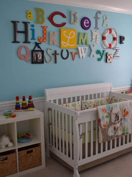 kids bedroom letters wall decor ideas for kid s rooms