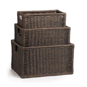 Wicker Kitchen Cabinet Basket   The Basket Lady