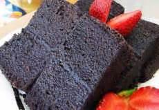 cara membuat brownies kukus ketan hitam pondan resep brownies kukus ketan hitam dan cara membuat