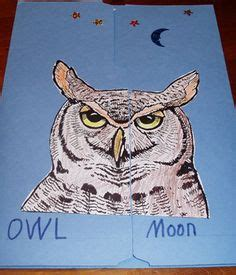 printable owl lapbook 1000 images about five in a row owl moon on pinterest