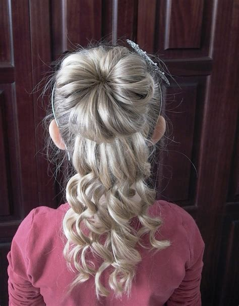 up do hairstyles for kids updos for little girls for weddings how to do little