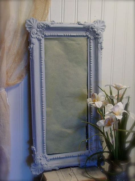 chalk paint mirror painted ornate mirror gray chalk paint
