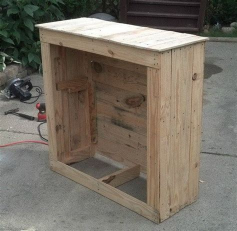 building cabinets out of pallets how to build a shelving cabinet from a wooden pallet