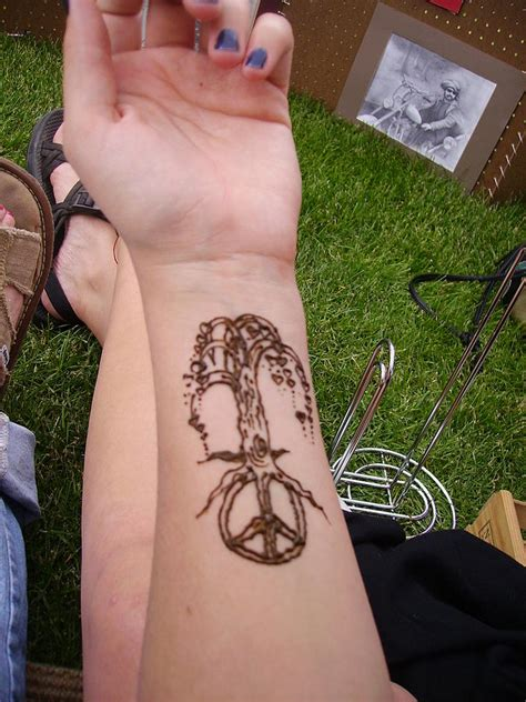 henna tattoo utah peace tree by henna tattoos ogden utah