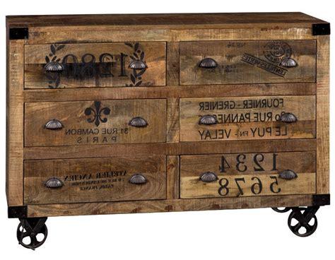 cassettiere vintage cassettiera 6 cassetti vintage ethic chic nuove tendenze