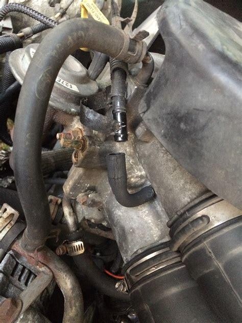 vacuum hose ford  forum