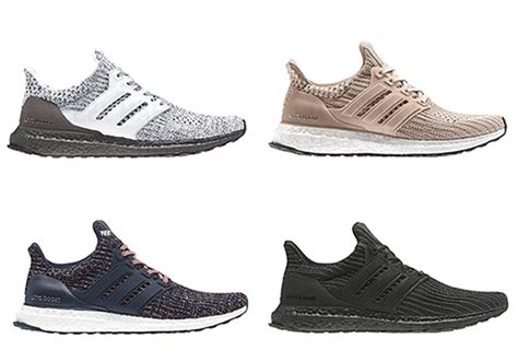 new year 2018 ultra boost adidas ultra boost 4 0 2018 colorway preview