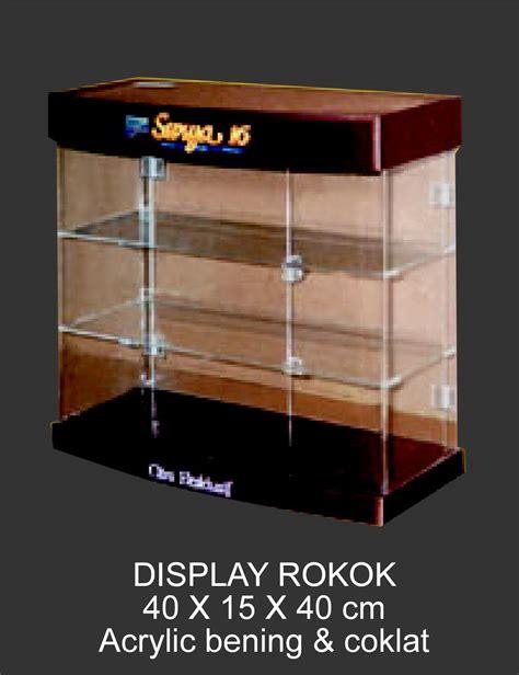 Kotak Akrilik Acrylic Box Showcase Pajangan display rokok dari acrylic supplier acrylic jakarta