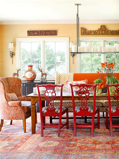 decorating with orange accents for fall cozy decorating orange red the inspired room