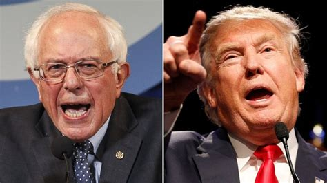 Trumps Mba by Donald And Bernie Sanders The Two Big Phenomena Of