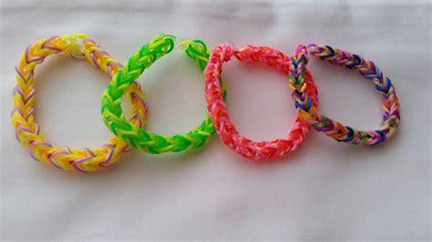 braccialetti fatti in casa braccialetti per bambini fatti da elastici colorati