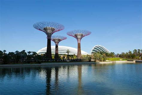 gardens by the bay conservatories singapore biomes e