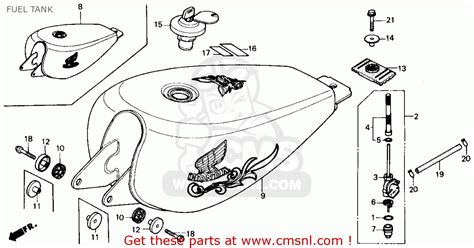 honda rebel 250 parts diagram honda cmx250c rebel 250 1985 usa fuel tank schematic