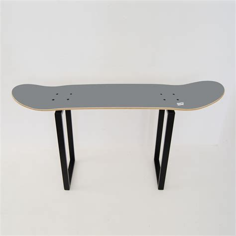 skate bench bench with skateboard deck for a good skate gift idea