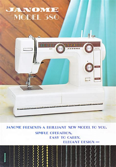 Mesin Jahit Janome Dc7100 aneka mesin jahit janome 380