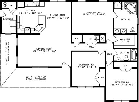 ashwood ranch modular home floor plan apex homes