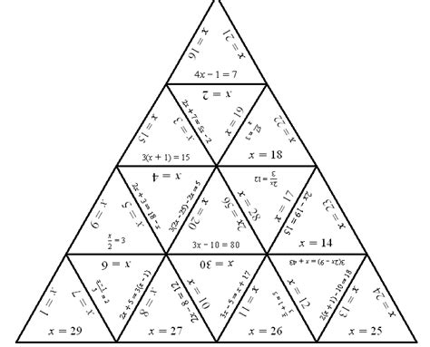 printable maths jigsaw puzzles tarsia puzzles things you didn t know number loving
