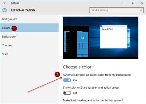 how to change border color how to change window border color in windows 10