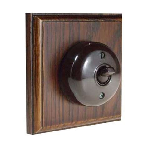 reproduction bakelite light switches oak bakelite