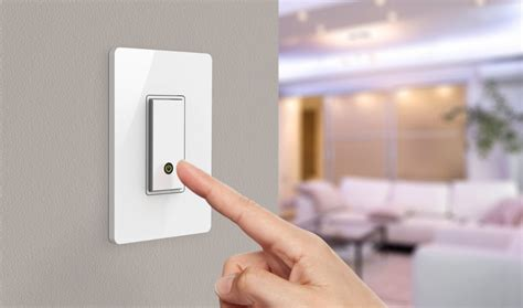 smartphone light control belkin wemo light switch un interrupteur wifi contr 244 l 233
