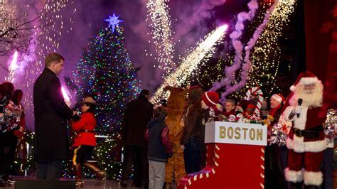 boston common tree lighting 76th annual boston common tree lighting brightens up the city