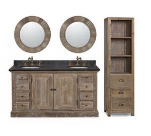 60 Inch Rustic Vanity Modern Vanity For Bathrooms Contemporary Bathroom