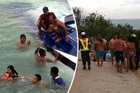 thailand news boat crash thailand speedboat crash two brits killed after captain