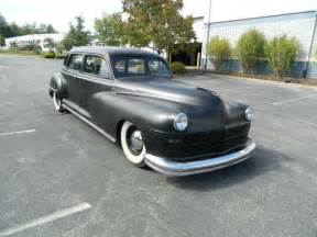 1948 Chrysler Value 1948 Chrysler 4 Door 8 Passsenger Limo For Sale