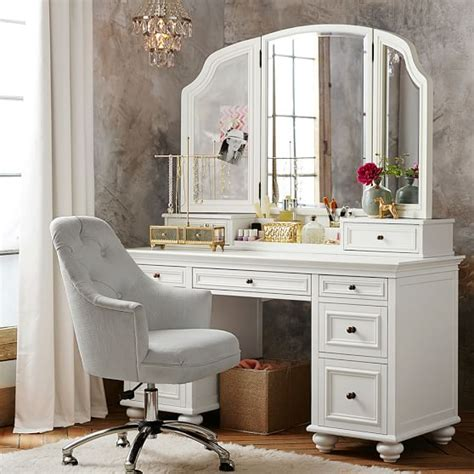 bedroom set with vanity dresser chelsea vanity pbteen