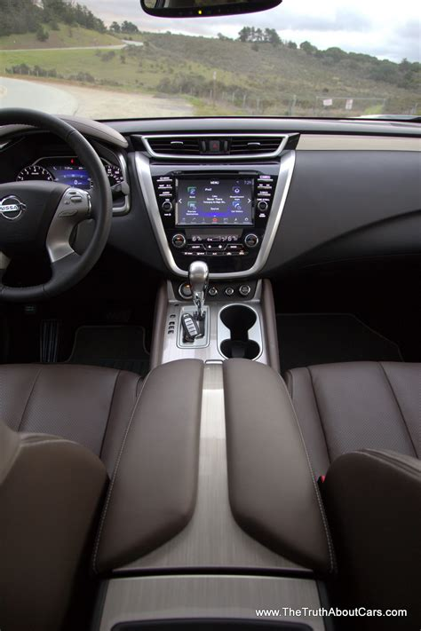 nissan murano interior review 2015 nisssan murano platinum with video the