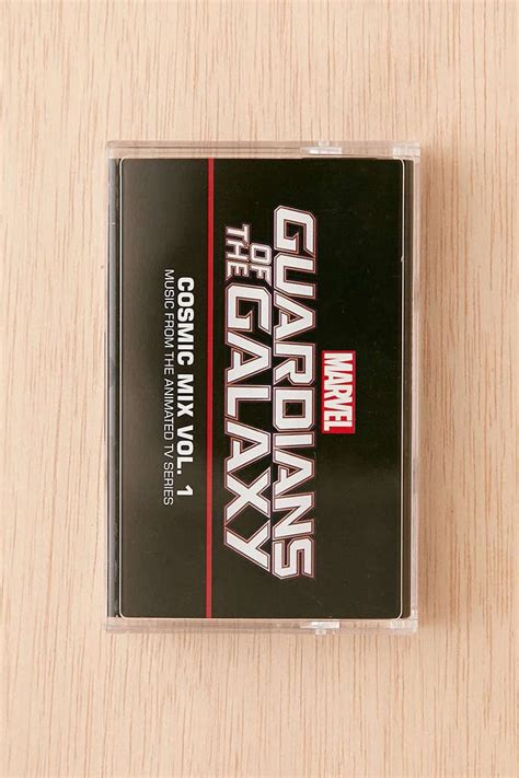 cassette cosmic various artists guardians of the galaxy cosmic mix vol
